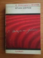 C. Dobrogeanu Gherea - Studii critice