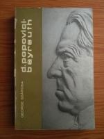 Anticariat: George Sbarcea - Dimitrie Popovici-Bayreuth. Cantaretul pribeag