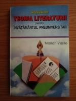 Marian Vasile - Notiuni de teoria literaturii pentru invatamantul preuniversitar