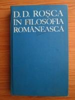 Anticariat: Tudor Catineanu - D. D. Rosca in filosofia romaneasca. Studii