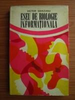Victor Sahleanu - Eseu de biologie informationala