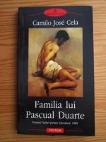 Anticariat: Camilo Jose Cela - Familia lui Pascual Duarte