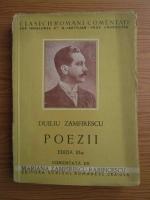 Anticariat: Duiliu Zamfirescu - Poezii (1942)