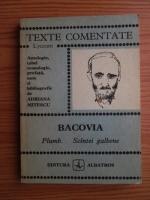 Anticariat: George Bacovia - Plumb. Scantei galbene