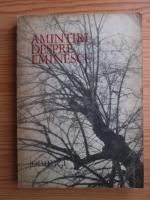 Anticariat: Ion Popescu - Amintiri despre Eminescu