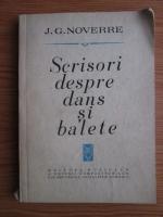 Anticariat: J. G. Noverre - Scrisori despre dans si balete