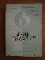 M. Bucur, B. Capesius, G. David, Al. Dima, K. Engel - Istoria si teoria comparatismului in Romania