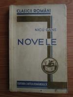 Anticariat: Nicu Gane - Novele (1933)