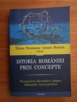 Victor Neumann, Armin Heinen - Istoria Romaniei prin concepte. Perspective alternative asupra limbajelor social politice
