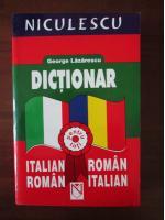 George Lazarescu - Dictionar Italian-Roman; Roman-Italian