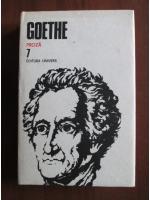 Goethe - Opere, volumul 7 (Proza)