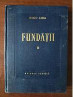 Hugo Lehr - Fundatii (volumul 2)