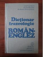 Leon Levitchi - Dictionar frazeologic Roman-Englez