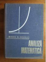 Marcel Rosculet - Analiza matematica