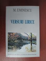 Anticariat: Mihai Eminescu - Versuri lirice