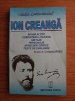 Anticariat: Constanta Barboi - Ion Creanga. Comentarii literare sinteze, personaje, aprecieri critice, teste de evaluare