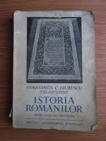 Constantin C. Giurescu - Istoria romanilor pentru clasa a VIII-a secundara (1939)