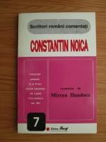 Mircea Handoca - Constantin Noica