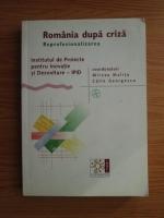 Anticariat: Mircea Malita, Calin Georgescu - Romania dupa criza. Reprofesionalizarea