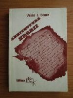 Vasile I. Bunea - Arhitectura erorii