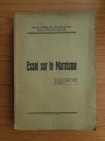 Nastase R. Popesco - Essai sur le Marxisme