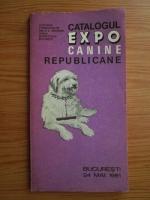 Anticariat: Catalogul expozitiei canine republicane (1981)