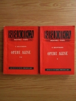 Anticariat: Dimitrie Bolintineanu - Opere alese (2 volume)