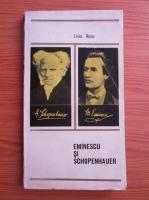 Anticariat: Liviu Rusu - Eminescu si Schopenhauer