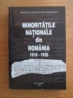 Minoritatile Nationale din Romania 1918-1925