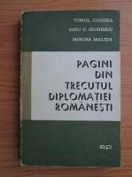 Anticariat: Mircea Malita, Virgil Candea, Mircea Malita - Pagini din trecutul diplomatiei romanesti