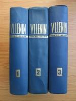 Anticariat: Vladimir Ilici Lenin - Opere alese (3 volume)