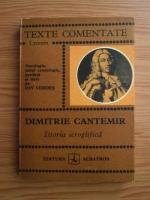 Anticariat: Dimitrie Cantemir - Istoria ieroglifica (texte comentate)