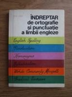 Edith Ilovici - Indreptar de ortografie si punctuatie a limbii engleze