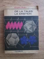 Anticariat: Eugen Rusu - De la Tales la Einstein