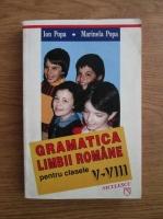 Anticariat: Ion Popa, Marinela Popa - Gramatica limbii romane pentru clasele V-VIII