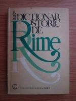 Anticariat: Olimpia Berca - Dictionar istoric de rime