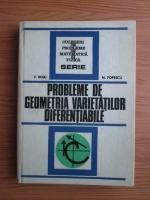 V. Boju, M. Popescu - Probleme de geometria varietatilor diferentiabile