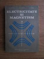 Anticariat: Al. Nicula, Gheorghe Cristea, S. Simon - Electricitate si magnetism