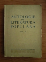 Antologie de literatura populara, volumul 2. Basmul