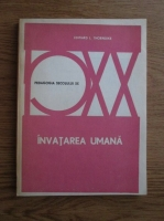 Anticariat: Edward Lee Thorndike - Invatarea umana