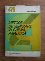 Elena Jercan - Metode de separare in chimia analitica