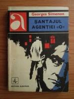 Anticariat: Georges Simenon - Santajul agentiei O
