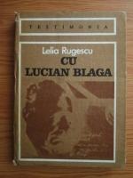 Anticariat: Lelia Rugescu - Cu Lucian Blaga