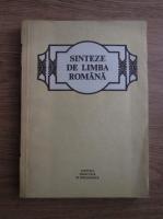 Anticariat: Mioara Avram - Sinteze de limba romana