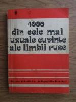 N. M. Sanski - 4000 din cele mai uzuale cuvinte ale limbii ruse