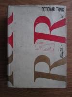 Anticariat: Nicolae Meret - Dictionar tehnic roman-rus
