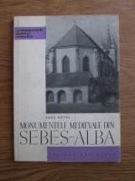 Anticariat: Radu Heitel - Monumentele medievale din Sebes-Alba