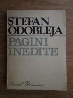 Anticariat: Stefan Odobleja - Pagini inedite