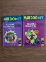 Dan Branzei, Anton Negrila, Maria Negrila - Algebra, geometrie. Clasa a VII-a (2 volume)