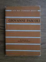 Anticariat: Giovanni Pascoli - Versuri